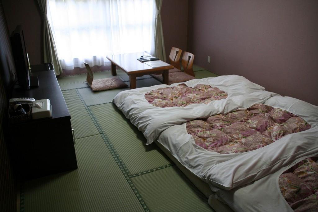 Llegada a hakone jap n en familia - Habitaciones estilo japones ...